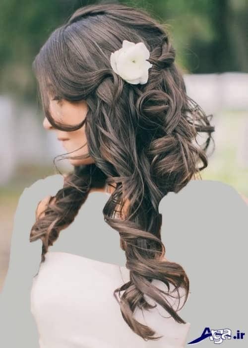 مدل های جذاب و زیبا شینیون عروس