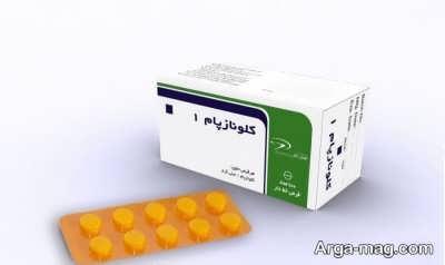 اطلاعات دارویی کلونازپام