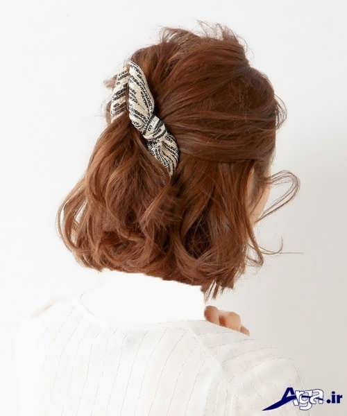 انواع متنوع مدل بستن مو با کلیپس