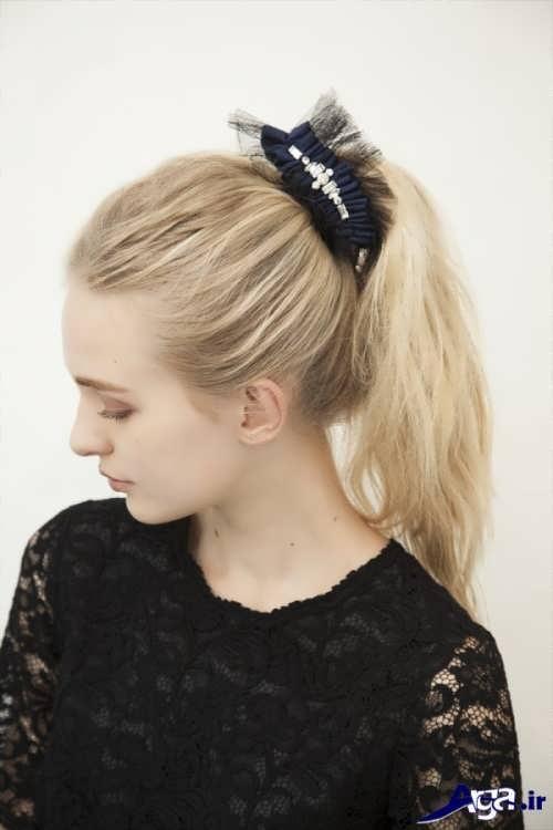 مدل زیبا بستن موها