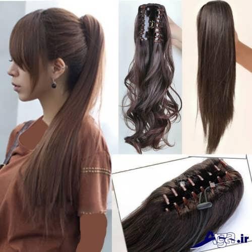 مدل بستن مو با کلیپس مویی