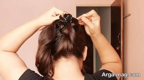 آموزش بستن مو با کلیپس