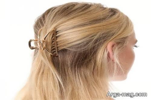 آموزش روش های درست کردن مو با کلیپس