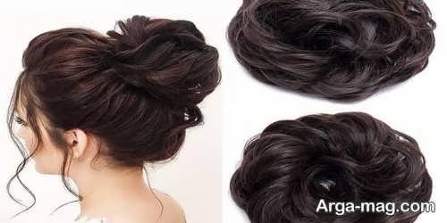 مدل موی ساده با کلیپس موی