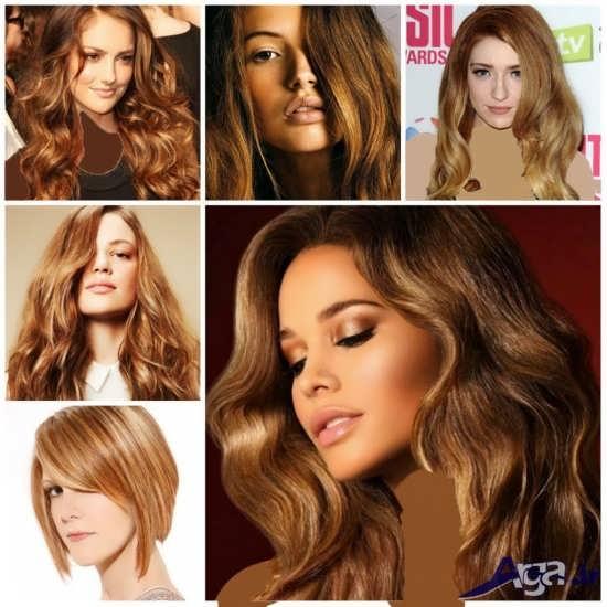 انواع مدل های متنوع و جدید مش و رنگ مو