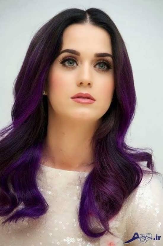 مدل های زیبا و جدید رنگ و مش مو