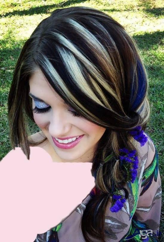 مدل رنگ تیره مو