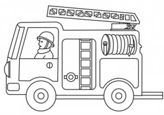 نقاشی آتش نشانی