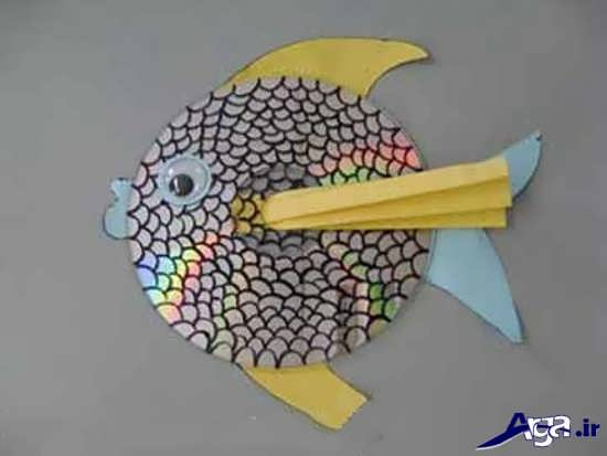 ساخت ماهی با سی دی