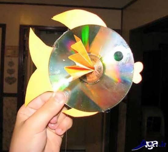 کاردستی خلاقانه با سی دی