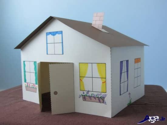 ساخت کاردستی خانه با مقوا