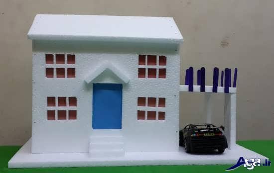 کاردستی در مورد تشدید ساخت کاردستی خانه با روش های خلاقانه و جدید
