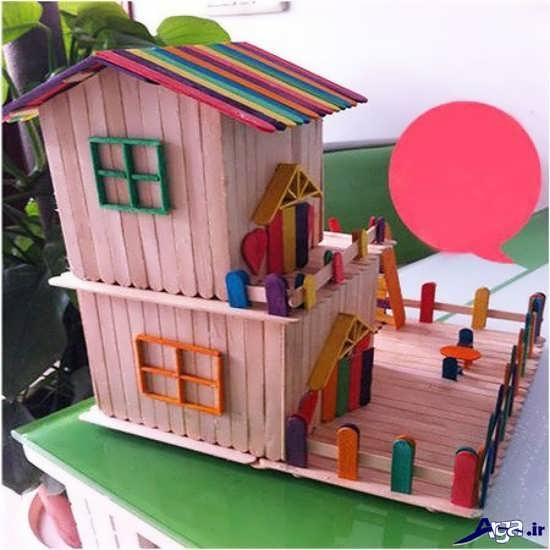 ساخت کاردستی خانه جدید