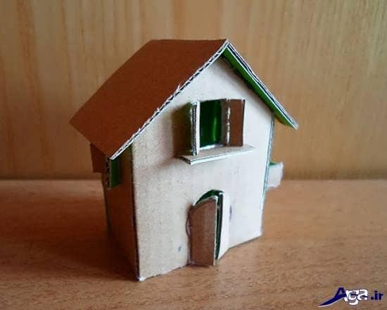 آموزش ساخت خانه فانتزی با کارتن و مقوا