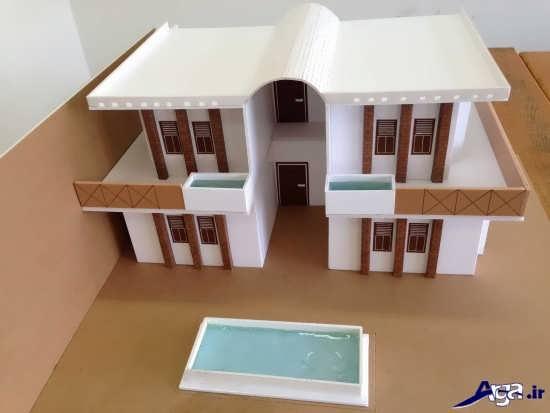 ماکت سازی با وسایل ساده ساخت کاردستی خانه با روش های خلاقانه و جدید