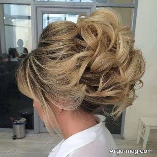 موی جمع دخترانه با طرح جدید