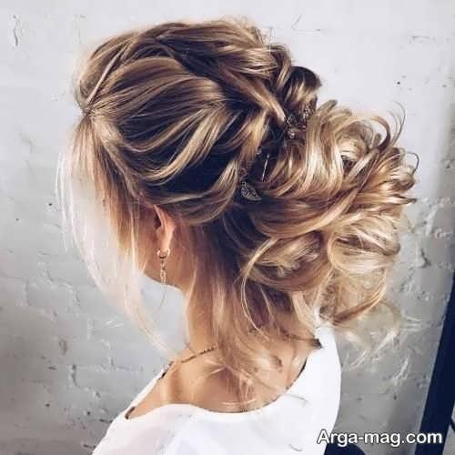 مدل موی جمع دخترانه