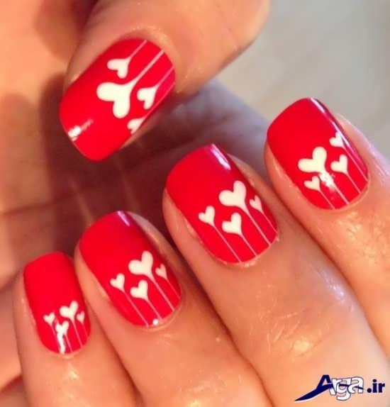 دیزاین ناخن ویژه روز ولنتاین