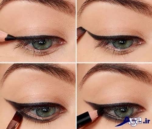 مدل خط چشم مدادی