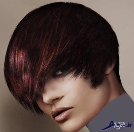 رنگ موی فانتزی بادمجانی