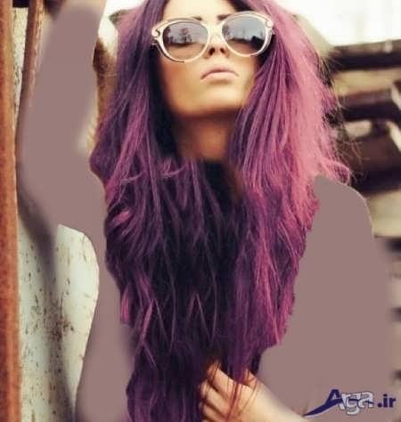 رنگ موی بادمجان