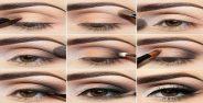 آموزش آرایش چشم به صورت مرحله به مرحله