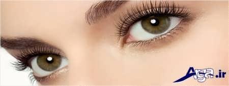 آرایش چشم با مژه مصنوعی
