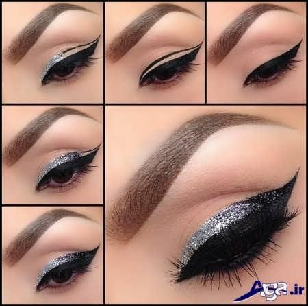 آموزش آرایش چشم زیبا