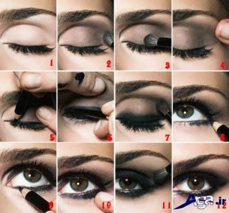 آموزش کامل آرایش چشم