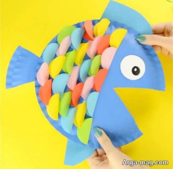 ساخت ماهی برای کودک