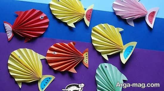 ساخت ماهی خلاقانه