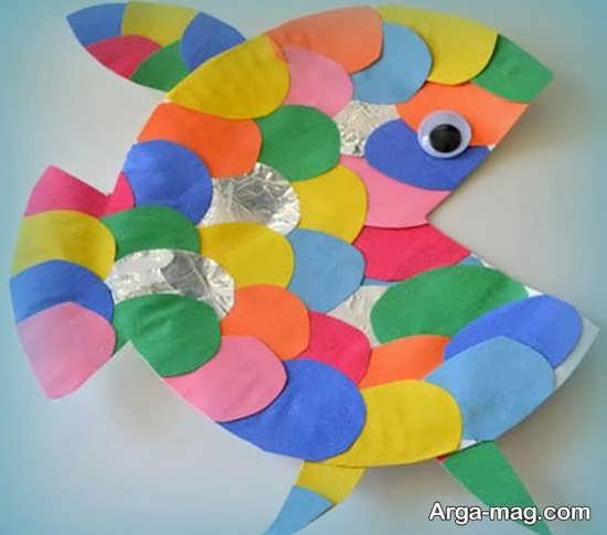 ساخت ماهی برای بچه ها