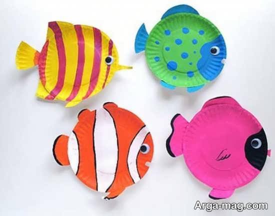کاردستی ماهی برای کودک