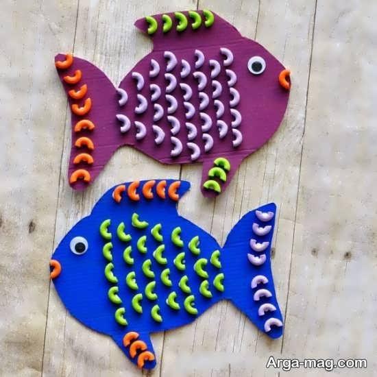ساخت ماهی زیبا