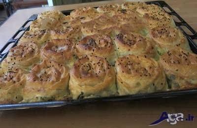 روش های طبخ غذا با خمیر یوفکا