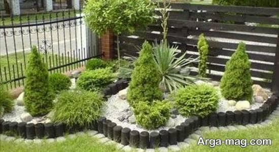 تزیینات مدرن باغچه های کوچک