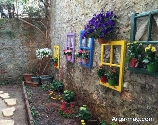 تزیینات به روز باغچه های کوچک