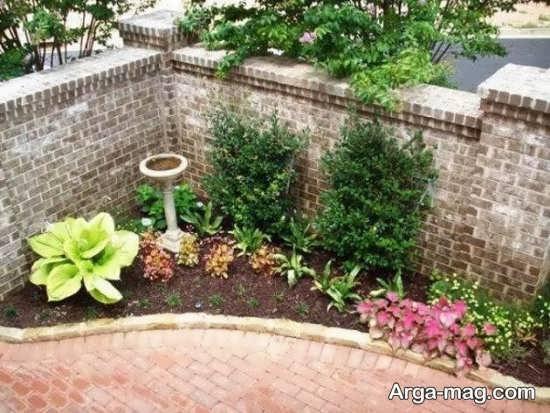تزیینات هنرمندانه باغچه های کوچک