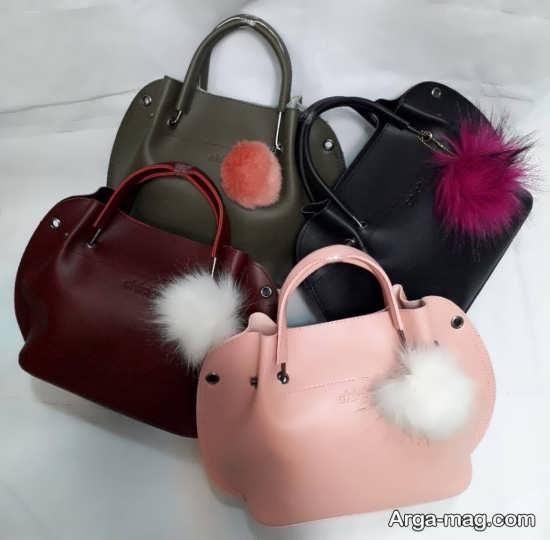 مدلی از کیف دخترانه