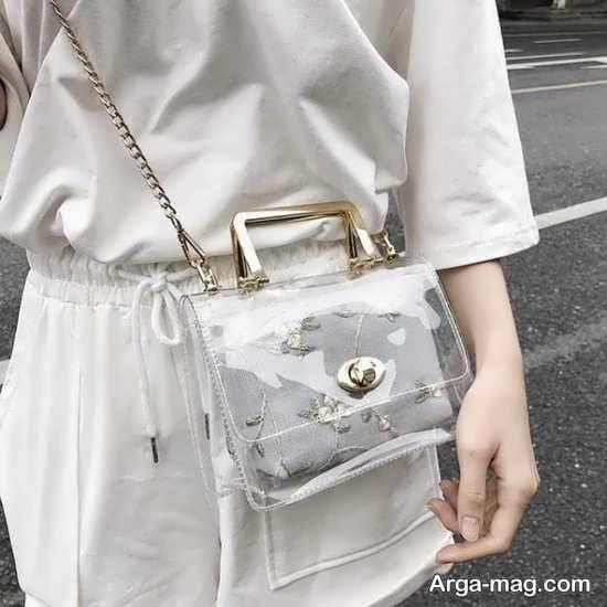 مدل کیف دخترانه شیشه ای