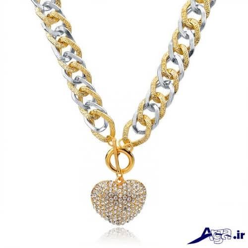 مدل گردنبند طلا با طراخی متفاوت