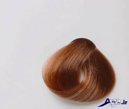 انواع مدل های رنگ موی زیبا تنباکویی
