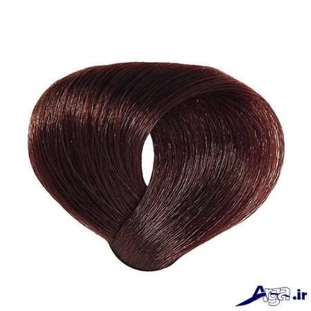 رنگ تنباکویی مو