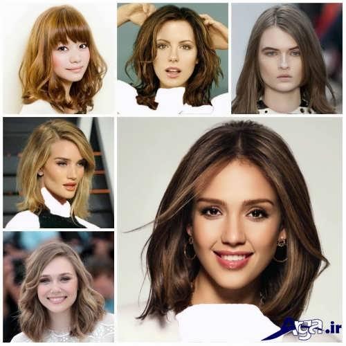 انواع مدل موی دخترانه مجلسی مد سال