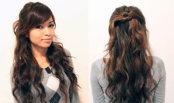 مدل موی دخترانه مجلسی برای انواع صورت ها