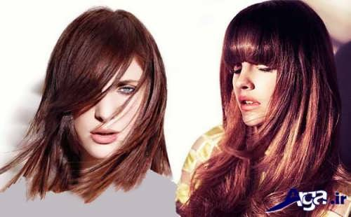 مدل موی دخترانه مجلسی جدید و زیبا