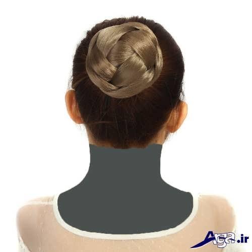 مدل موی جمع ساده