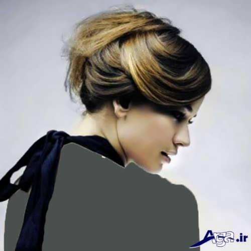 مدل موی بسته ساده
