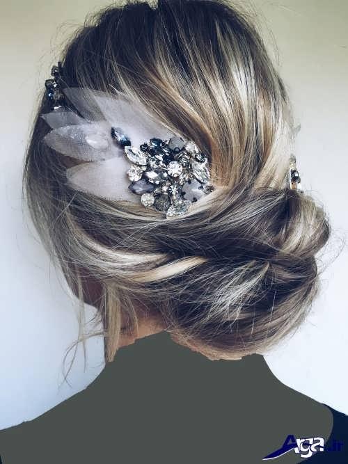 مدل موی جمع برای خانم ها