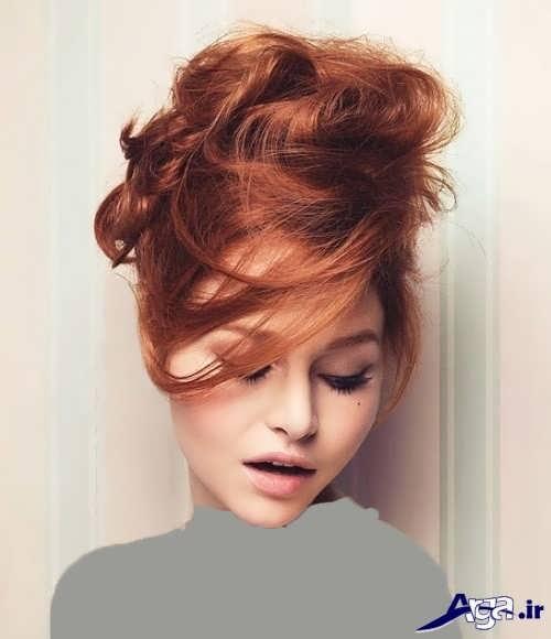 مدل موی ساده جمع